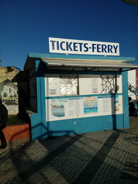Ticket kiosk in Olhao