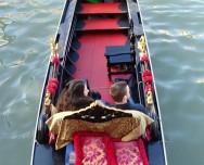 Inside the gondola