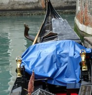 Close-up of gondola