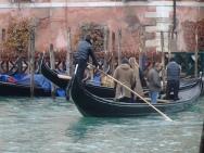 Gondola canal crossing