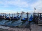 San Giorgio with gondolas