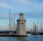 Harbour towers - San Giorgio Maggiore.