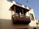 Typical Canarian balcony