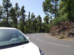 On the way up El Teide