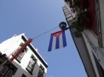 Cuban flag from carnival