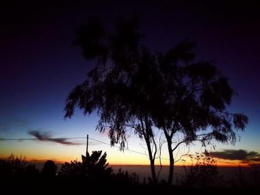Puntagorda sunset