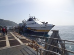 Docking at Lipari