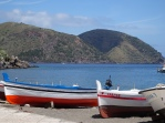 Boats on beach, Lipari