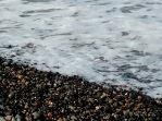 obsidian + pumice beach