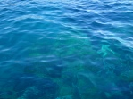 The glorious clear water