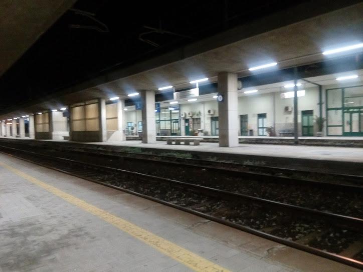 Empty Milazzo station