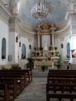 Interior of Rinella church