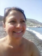 Me on the beach, Canneto.