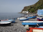Boats on beach Pecorini