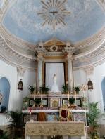 The altar Rinella church