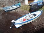 Boats in Santa Marina Salina