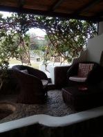 My terrace at B+B Luca