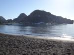 Black sand bay
