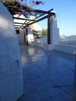 Deserted terrace
