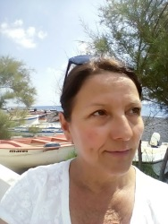 Me at Stromboli port