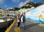 Arriving in Capri