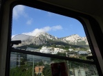 View from the funicular window