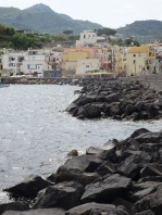 Ischia ponte rocks