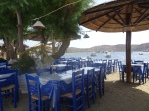 Blue taverna chairs