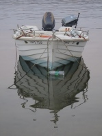 Boat and reflection