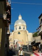 Santa Maria from below