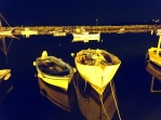 Night time on the water