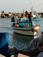 Fishermen & their boats