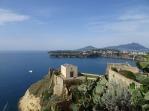 view of Ischia from Terra Murata