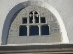 Kastro church window