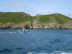 fishing boat in Sark