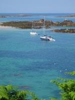 Yachts off Shell Beach