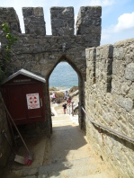 Looking down Rosaire Steps
