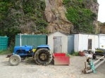 Tractor & sheds Creux Harbour