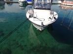 Clear water Krk harbour