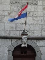 Town hall flag