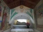 Effigy + frescoes