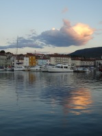 Sunrise over Cres town