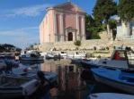 Pink church Veli Losinj