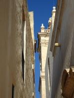Narrow citadel streets