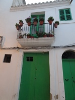 Green door Dalt Vila