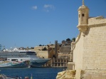 Valletta from St Angelo fort