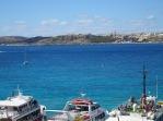 Gozo across the blue lagoon