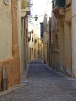 Il Borgo lamplit street