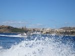 Gozo from the boat
