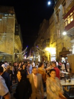 Festival time in Valletta